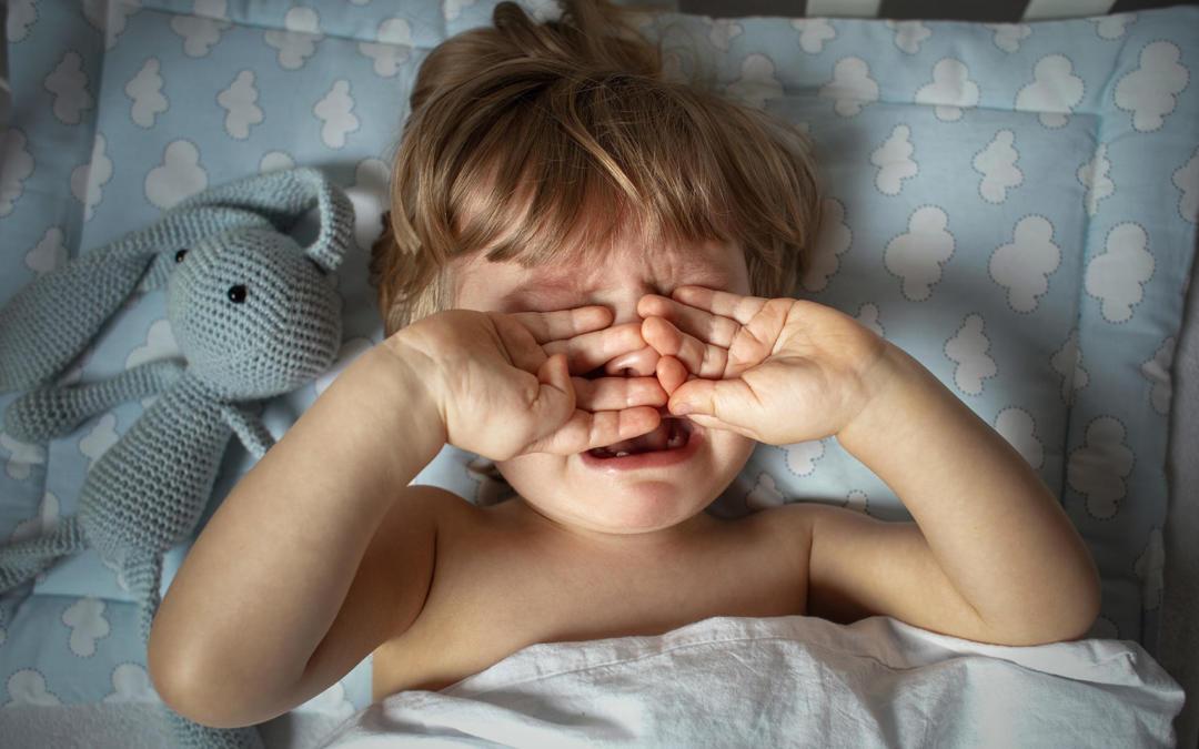 Quando un bambino fa un capriccio di notte