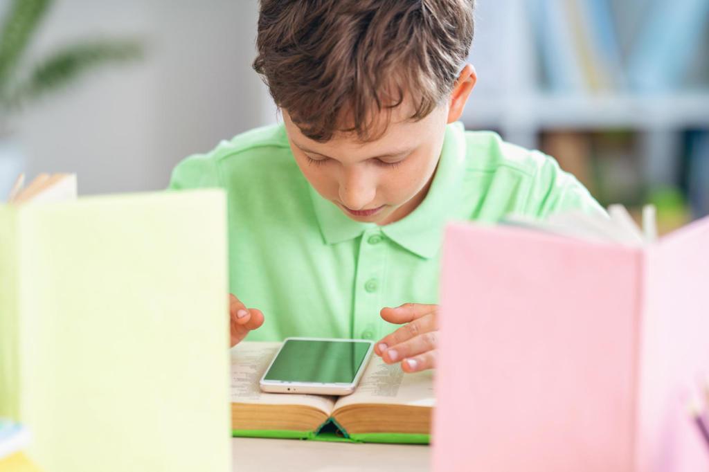 Scuola a distanza e smartphone